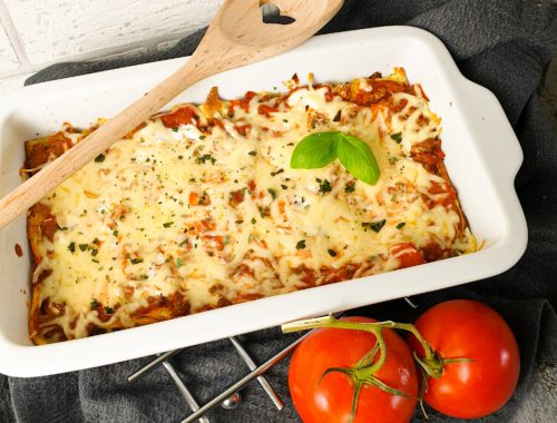 Lowcarb-Lasagne