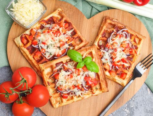 Pizzawaffeln